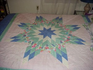 Lone Star Quilt in it's heyday